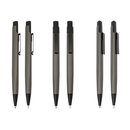 MINDORO pennenset metaal met 1 balpen en 1 vulpotlood Peekaysample