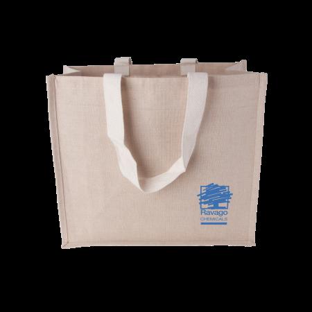 Canvas shopper met geweven hengsels 240 gr/m2