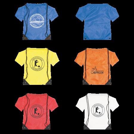 Nylon rugzak T-shirt