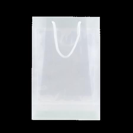 Transparante tas met 2 vensters A5