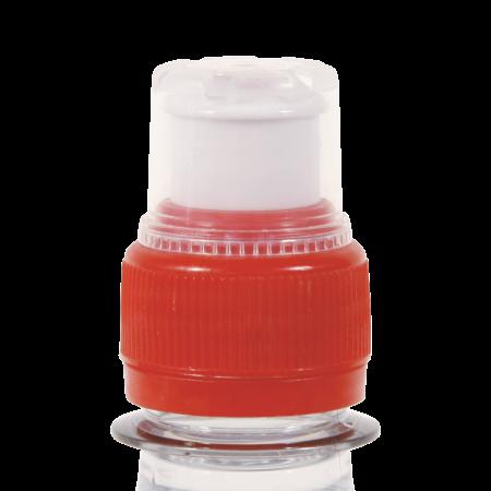 Ronde waterfles 330 ml met sport dopsample