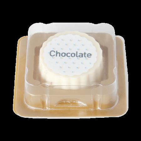 Billede af Logo bonbon hvid chokolade