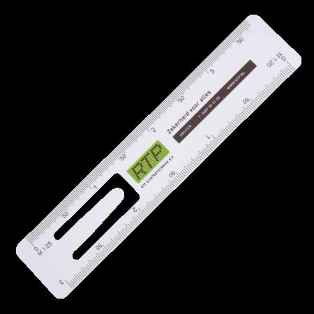 Bladwijzer liniaal 150 mm