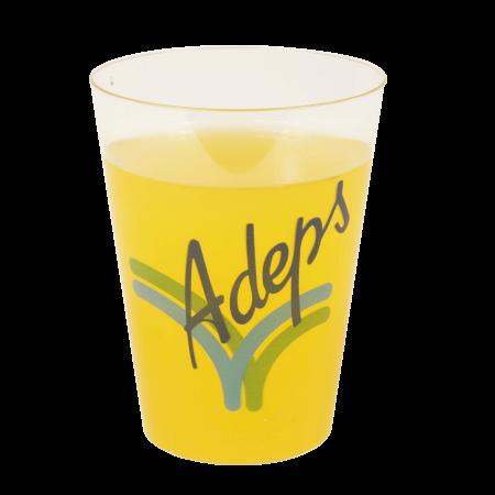 Kunststof limonade glas transparant 200 cc
