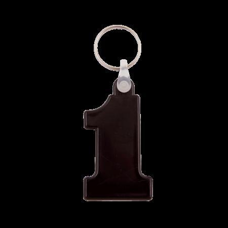 Kunststof sleutelhanger Nr. 1 sample
