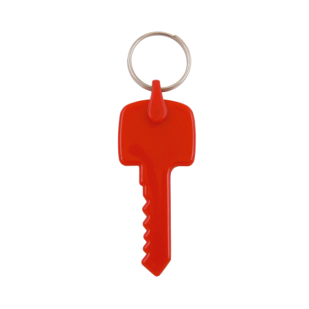 Kunststof sleutelhanger Sleutel sample