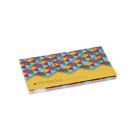 Sticky notes in omslag 2 in 1 135x75 mm 100 velsample