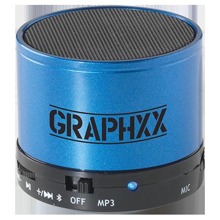 Oplaadbare mini bluetoothspeaker inclusief USB/audiokabel met 3,5 mm plug