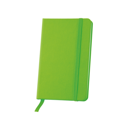 Notitieboekje A6 met elastiek en leeslint, 80 pagina`ssample