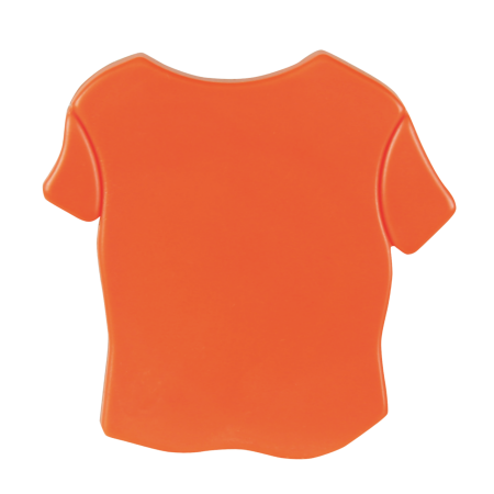 T-shirt magneet sample