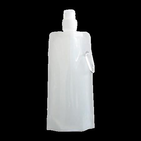 Waterzak met karabijn haak 500 ml leeg