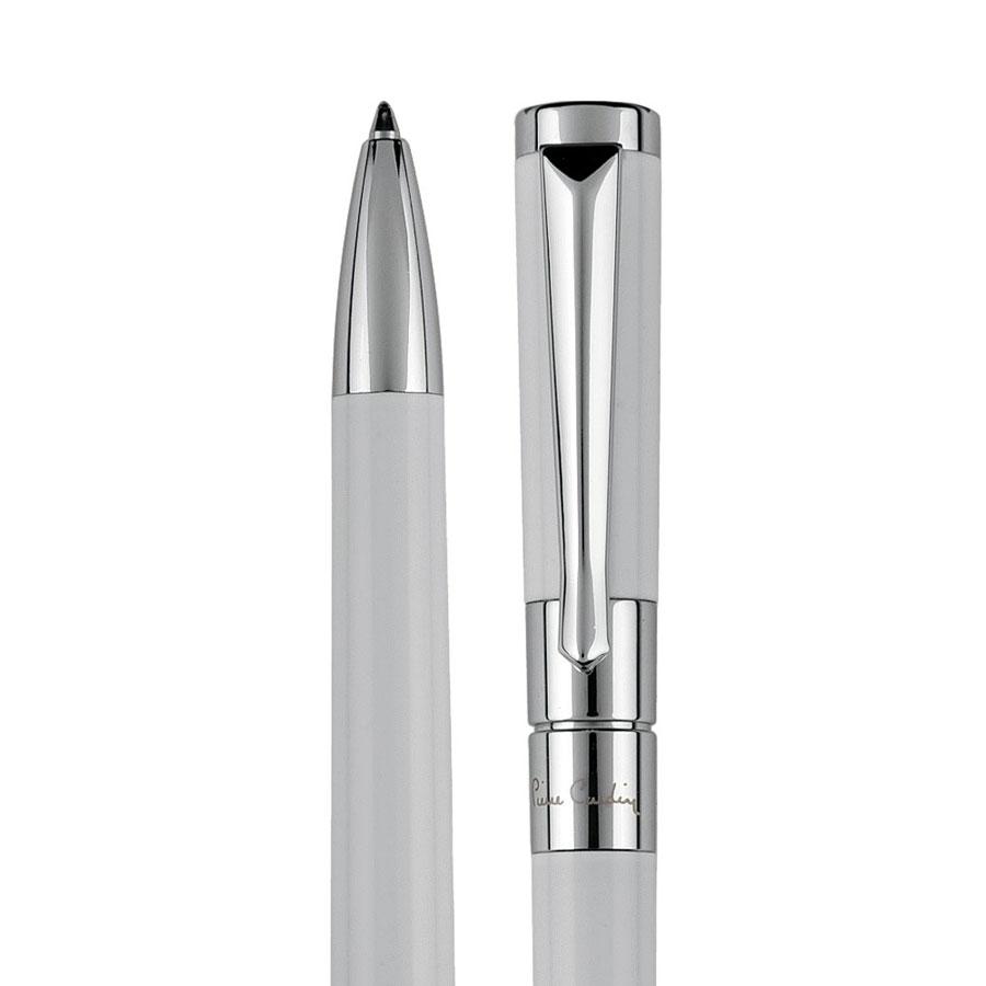 Pierre Cardin AURELIE stijlvolle witte metalen draaibalpen