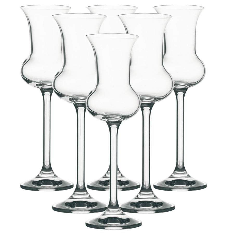 Vanilla Season HAMEDAM 6 set van 6 kristallen digestief glazen